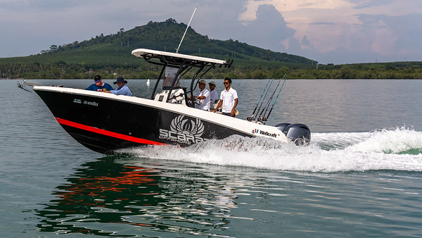 Scarab - Fast Fishing Boat - Phangnga Bay - Asia Marine