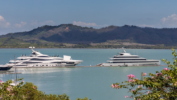 Super Yachts at Yachthaven - Phuket