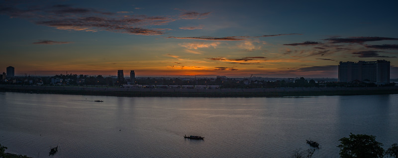 Views of Tonle Sap River