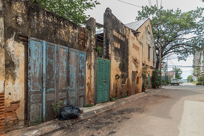 French Colonial Buildings in the centre of Savannakhet