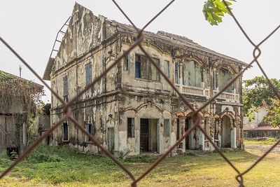 Old French Colonial-Savannakhet-Laos