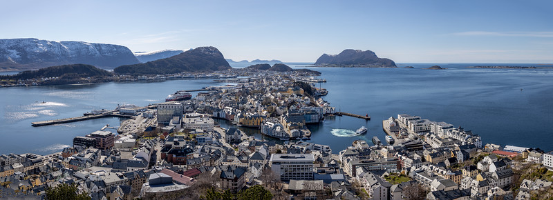Aksla Viewpoint, Alesund