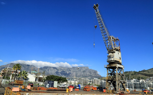 V & A Waterfront working drydock