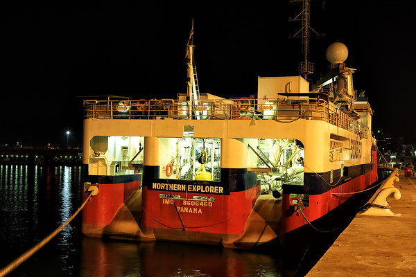 Durban Docks at Night