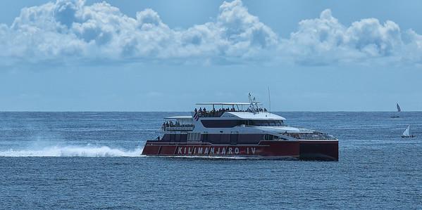 Zanzibar fast ferry