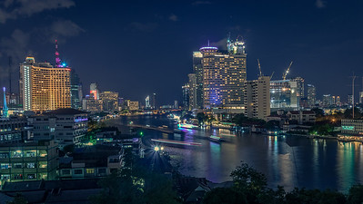 Chao Phraya River at Night
