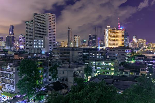 Bangkok Night Views