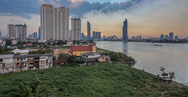 Chao Phraya river views