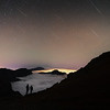 Lluvia de estrellas de las GemínidasIsla de La Palma, España