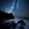 Vía Láctea a nivel del mar