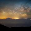 Vía Láctea desde la Ruta de Los Volcanes