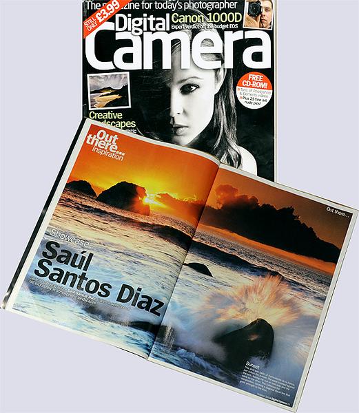"Reportaje  revista ""Digital Camara"" Inglaterra."