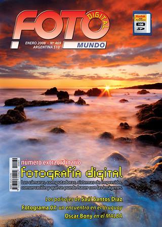 """Portada y entrevista en La Revista """"Foto Mundo"""""""