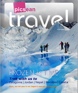 Portada en la revista Travel Picsean
