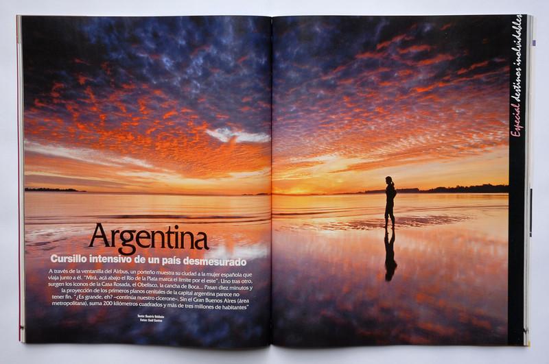 "Reportaje de Argentina, revista ""Viajeros"""