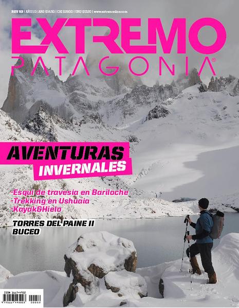 """Portada y reportaje en la Revista """"Extremo Patagonia"""" Argentina"""