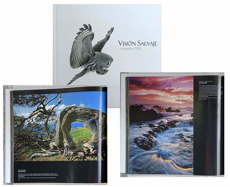 """Fotografos 2006. Libro """"Vision Salvaje"""""""