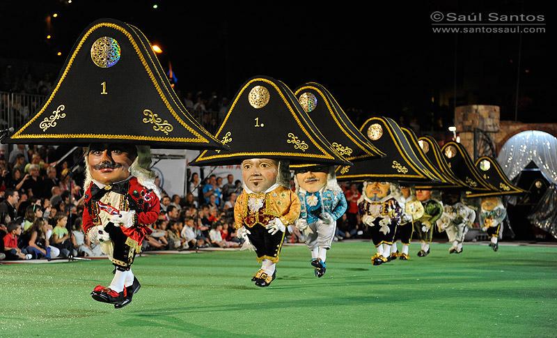 Danza de Los Enanos, Fistas Lustrales de La Bajada de La Virgen de Las Nieves 2010