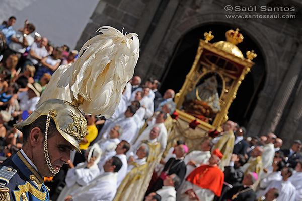 Bajada de La Virgen. Fistas Lustrales de La Bajada de La Virgen de Las Nieves 2010