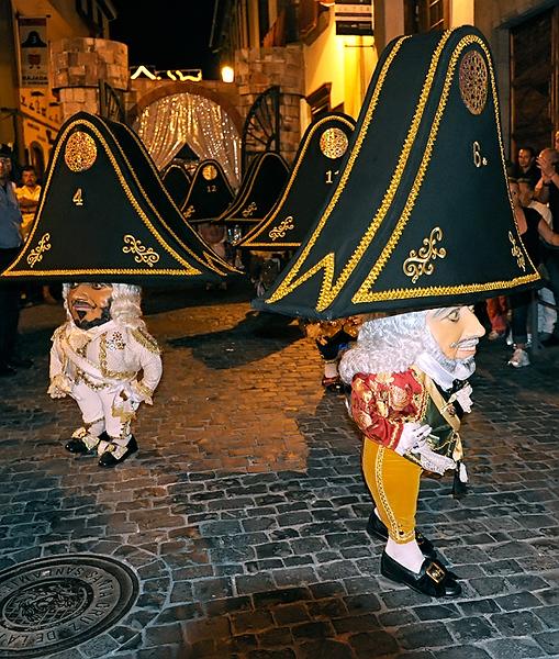 Danza de Los Enanos. Fistas Lustrales de La Bajada de La Virgen de Las Nieves 2010