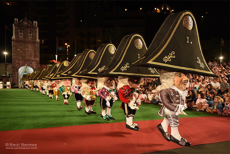 Danza de Los Enanos, Fiestas Lustrales de La Bajada de La Virgen 2015