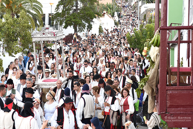Bajada del Trono, Fiestas Lustrales de La Bajada de La Virgen 2015