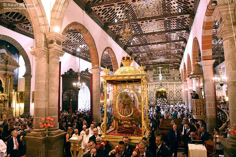 Bajada de La Viirgen de Las Nieves. Fiestas Lustrales de La Bajada de La Virgen 2015