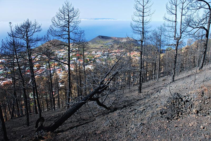 Incendio de Fuencaliente, Agosto de 2009