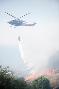 Incendio de Fuencaliente. Agosto de 2009