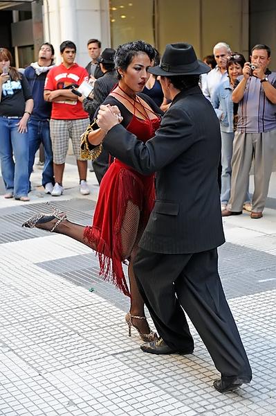 Tango en la calle, Buenos Aires. Argentina
