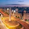 Avd. 9 de Julio, Buenos Aires. Argentina