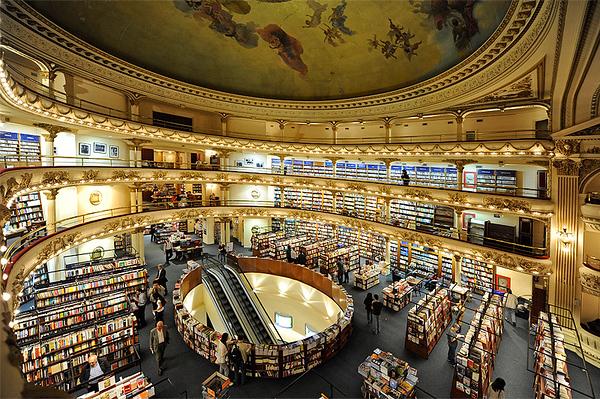 Libreria Ateneo, Buenos Aires. Argentina