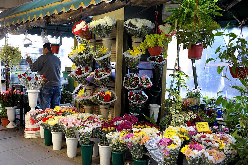 Puesto de Flores, Buenos Aires. Argentina
