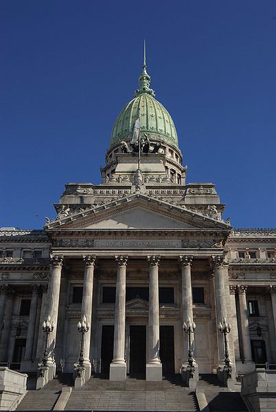Congreso nacional, Buenos Aires. Argentina