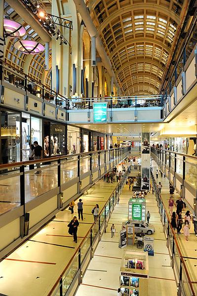 Centro comercial Abastos, Buenos Aires. Argentina