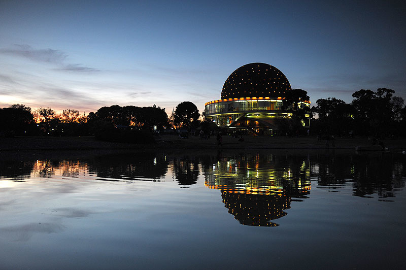 Planetario, Bosques de Palermo, Buenos Aires. Argentina