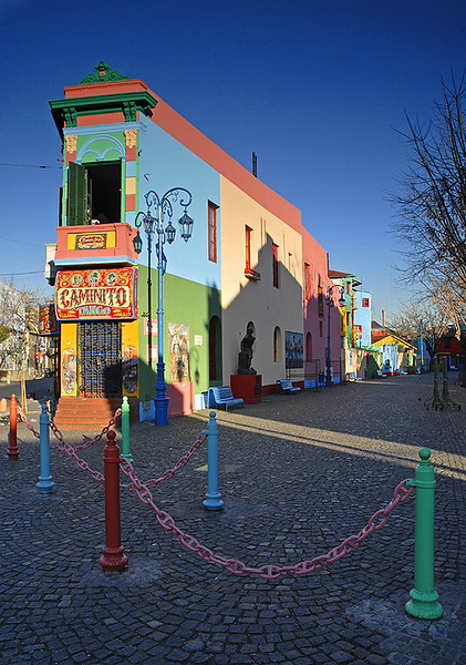 Caminito, Boca, Buenos Aires. Argentina