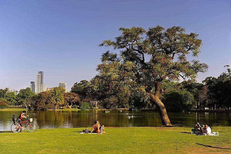 Bosques de Palermo,Buenos Aires. Argentina