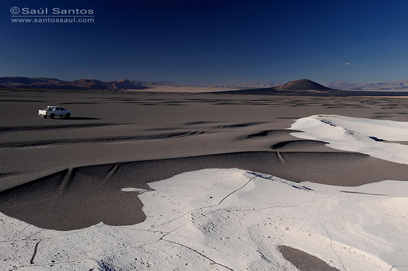 Campo de Piedra Pomez, Altiplano Andino, Catamarca, Argentina.