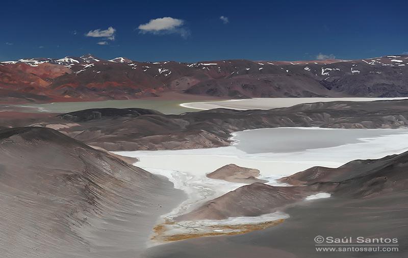 Altiplano Andino, Laguna Verde, Ruta de los Seismiles. Catamarca, Argentina