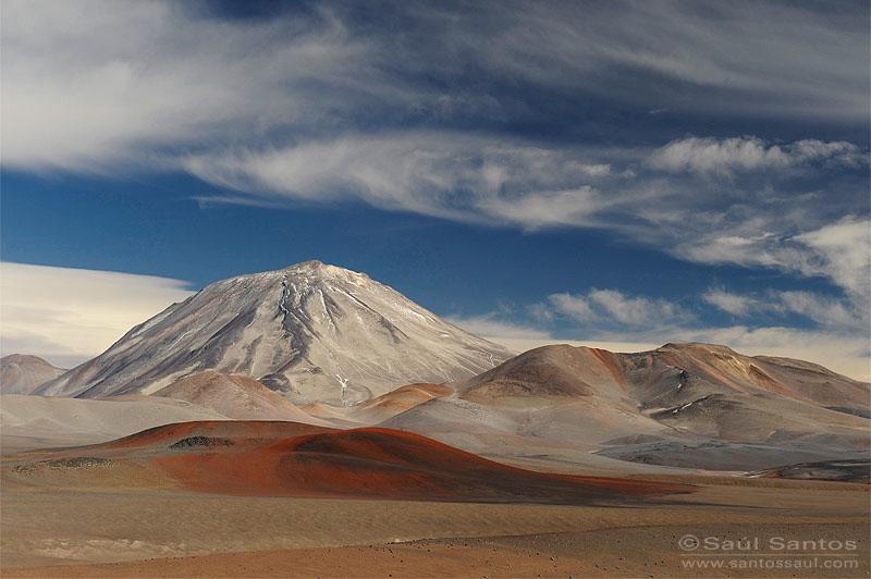 Volcán Incahuasi (6.638m) Ruta de  los Seis Miles, Catamarca. Argentina