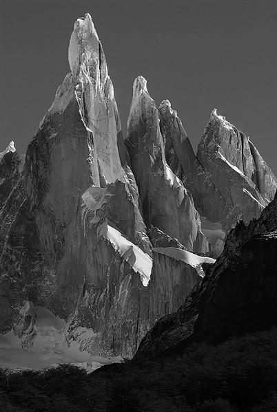 Cerro Torre (3133msm), Parque Nacional de Los Glaciares, Patagonia Argentina.
