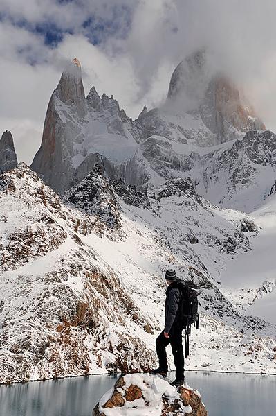 Monte Fitz Roy, (3375msnm), Parque Nacional de Los Glaciares, Patagonia Argentina.