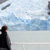 Lago Argentino, Glaciar SpegaParque Nacional de Los Glaciares, Patagonia Argentina.