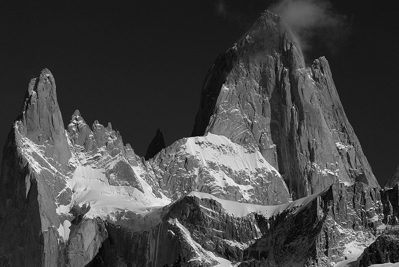 Monte Fitz Roy, (3375msnm),Parque Nacional de Los Glaciares, Patagonia Argentina.