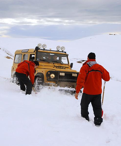 Cerro Frias, Calafate en Invierno, Parque Nacioanl de Los Glaciares. Pagagonia Argentina