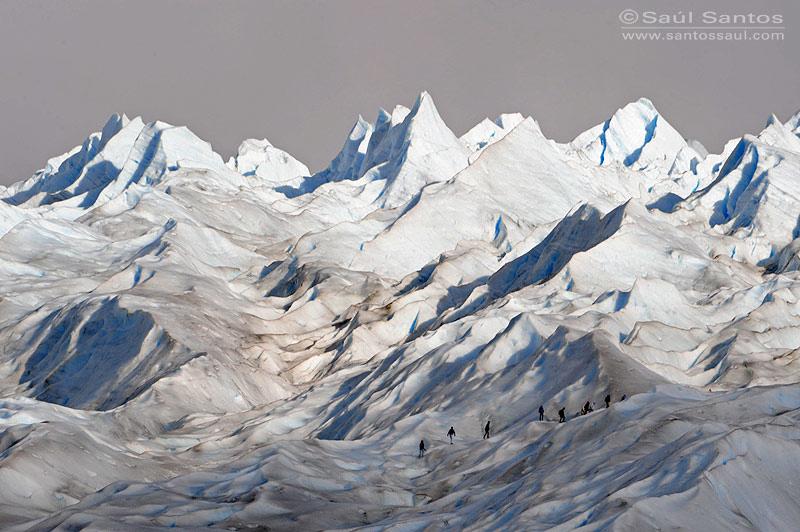 Glaciar Perito Moreno, Parque Nacional de Los Glaciares, Patagonia Argentina.