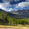 Rio de Las Vueltas, Chalten, Parque Nacional de Los Glaciares. Pagagonia Argentina