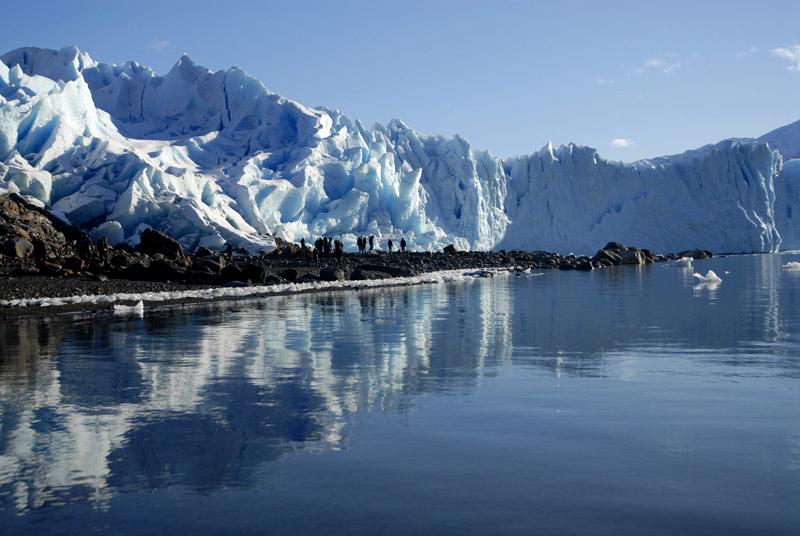 Glaciar Perito Moreno, Parque Nacional de Los Glaciares. Pagagonia Argentina