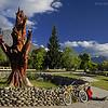 El Bolson, Rio Negro, Region de Los Lagos. Patagonia Argentina